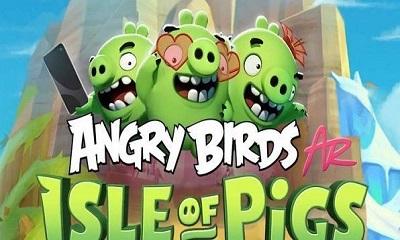 ios愤怒的小鸟ar版界面截图预览
