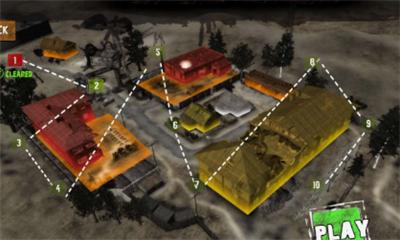 僵尸战争生存射击界面截图预览