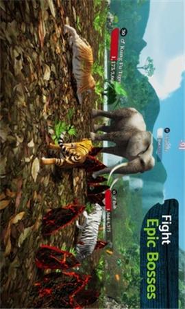 虎王模拟器无限金币版界面截图预览