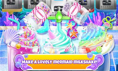 独角兽厨师(Unicorn Chef: Mermaid Mermicorn Girl Cooking Games)界面截图预览