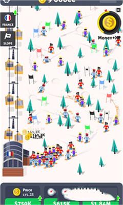 滑雪站界面截图预览