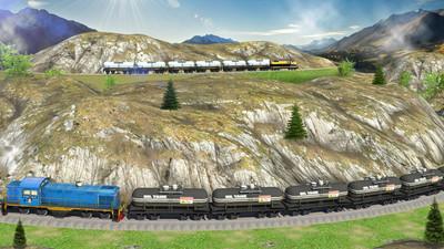 列车模拟器界面截图预览