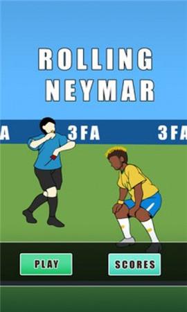 翻滚吧内马尔Rolling Neymar中文版界面截图预览