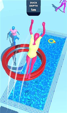 紫色跳水员界面截图预览