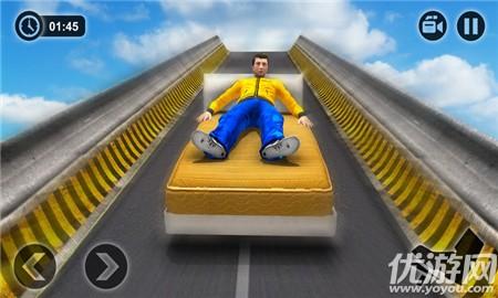 疯狂的车轮比赛是一个兆匝道去广告版