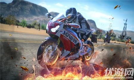 狂野摩托赛车界面截图预览