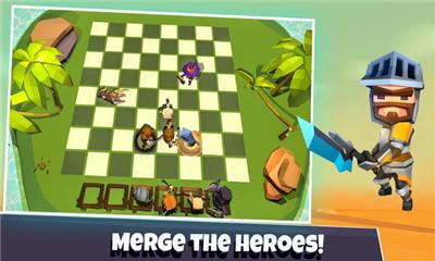 英雄自走棋界面截图预览