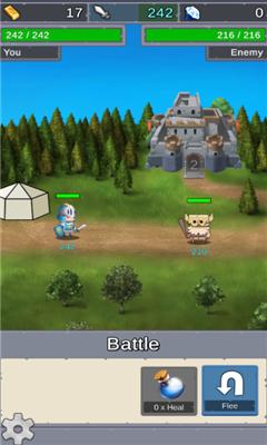 闲置斗士(Idle Crusader)界面截图预览