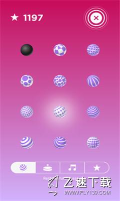 节奏小球界面截图预览
