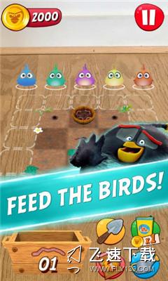愤怒的小鸟探索界面截图预览