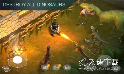 侏罗纪生存中文版界面截图预览