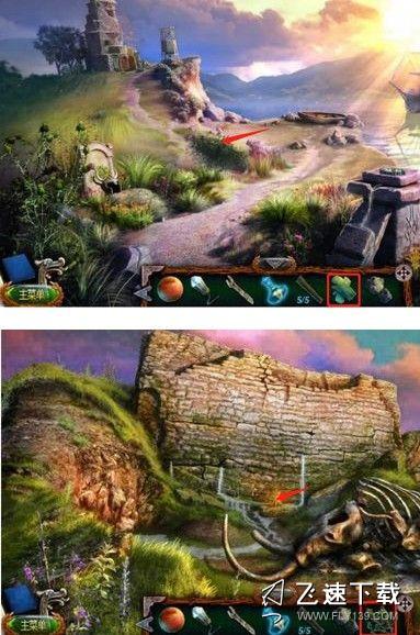 逃脱密室18中移动迷城迷失4流浪者第14关文图详尽通關功略 如何催毁古城墙[多图]照片11