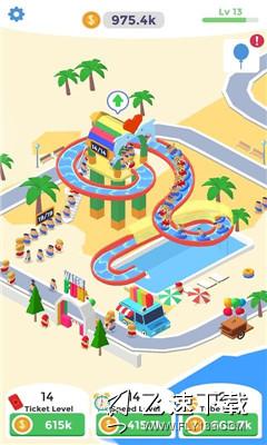 IdleAquapark(闲置水上公园)界面截图预览