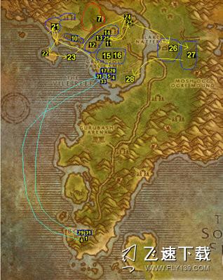 魔兽世界怀旧服部落升級路线