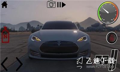 驾驶特斯拉漂移模拟器界面截图预览