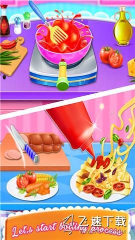 面食烹饪界面截图预览