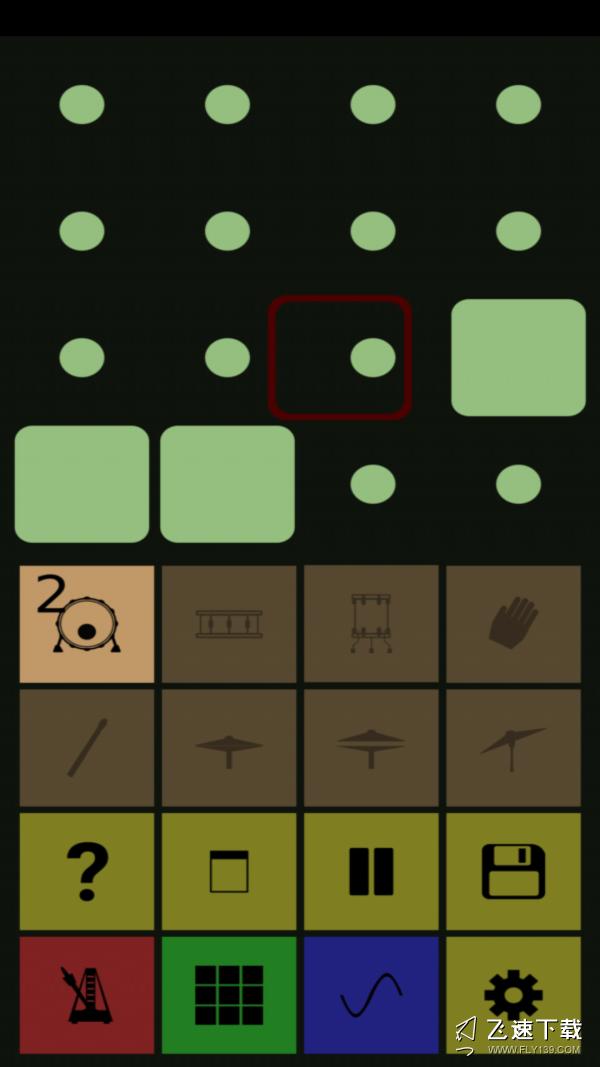架子鼓音乐伴奏软件界面截图预览